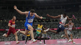 'Four Ferraris': Italy Race to Shock 4×100 Gold at Olympics