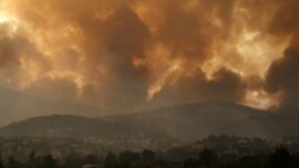 Fires Rampage Through Forests in Greece; Thousands Evacuated