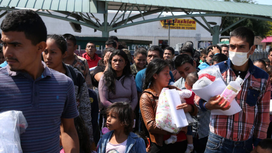 McAllen, Texas Setting Up Emergency Shelter for the 'Overwhelming Number' of Stranded Immigrants