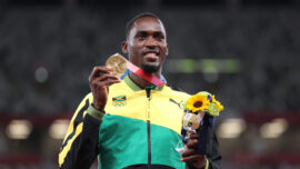 Jamaican Parchment Tracks Down Volunteer Who Helped Him Win Gold