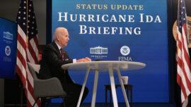 Biden Talks With Louisiana Governor After Ida Strikes State