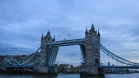 London's Tower Bridge Reopens After Arms Jammed
