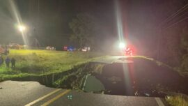 Ida Collapses Mississippi Road; Kills 2, Injures at Least 10