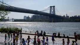 New Yorkers Battling Extreme Heat