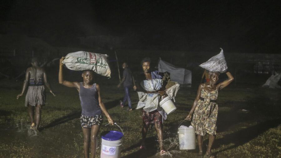 Tropical Storm Drenching Earthquake-Stricken Haiti