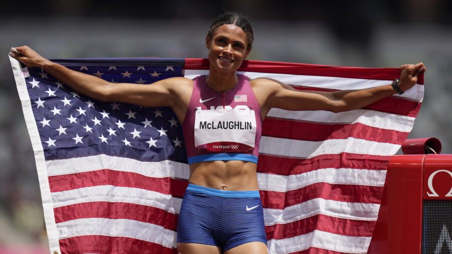 American Hurdler McLaughlin Sets New World Record in Women's 400-Meter