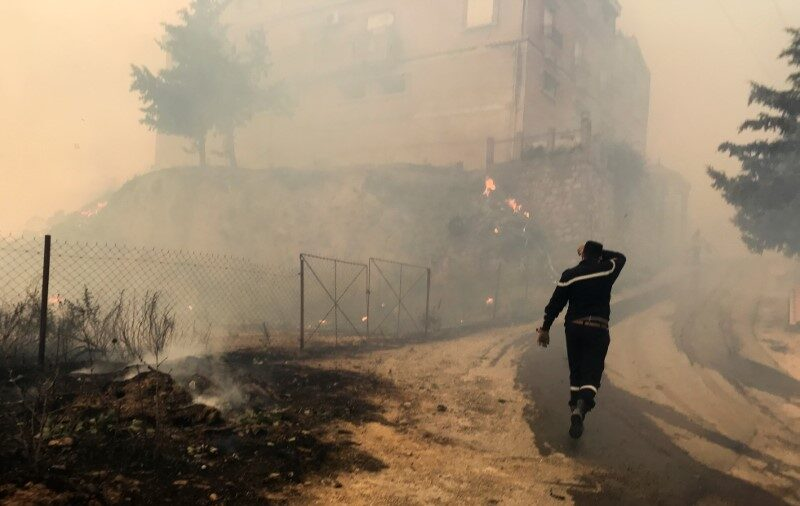 Arson Suspected as Wildfires Rage Across Algeria, 42 People Dead