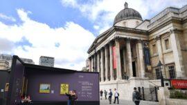 National Gallery Masterpieces at London's Trafalgar Square