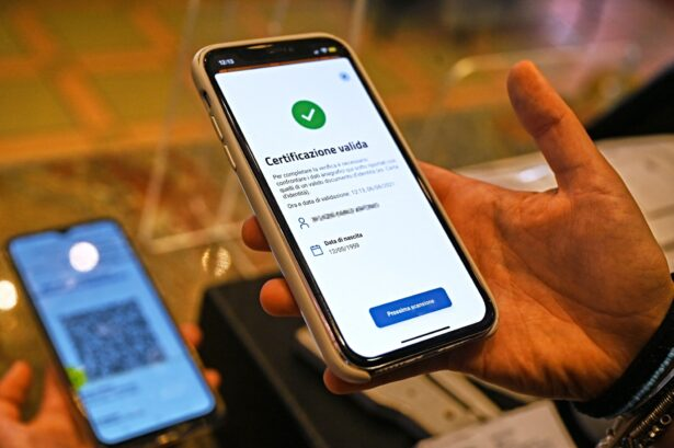 VerifyC19 mobile phone scan a Green Pass