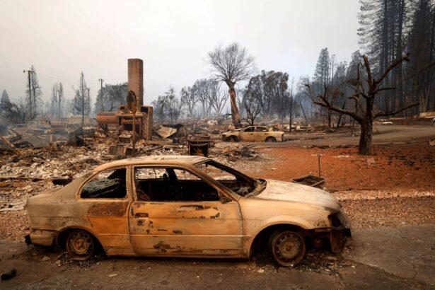 WILDFIRES CALIFORNIA-