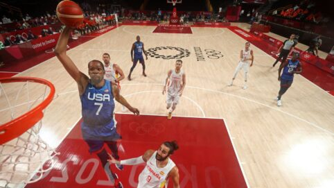 US Men's Basketball Tops Rival Spain in Olympics, Advances to Semifinals