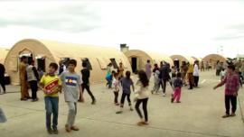 US Air Base in Germany Hosts 7,000 Evacuees