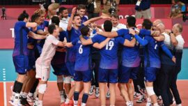 France Beats ROC in Men's Volleyball Final to Win Gold