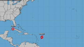 Tropical Storm Grace Forms in the Atlantic as Fred Temporarily Weakens