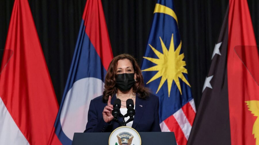 Harris Calls Out China's 'Bullying' in South China Sea During Vietnam Visit