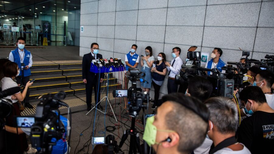 Hong Kong Students Charged With 'Advocating Terrorism' Denied Bail