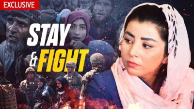 EXCLUSIVE: Kabul Woman Risks Life to Call for International Action