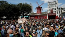 Europeans Protest Against Virus Mandates
