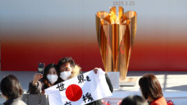 Tokyo Residents, Families Enjoy Olympic Games