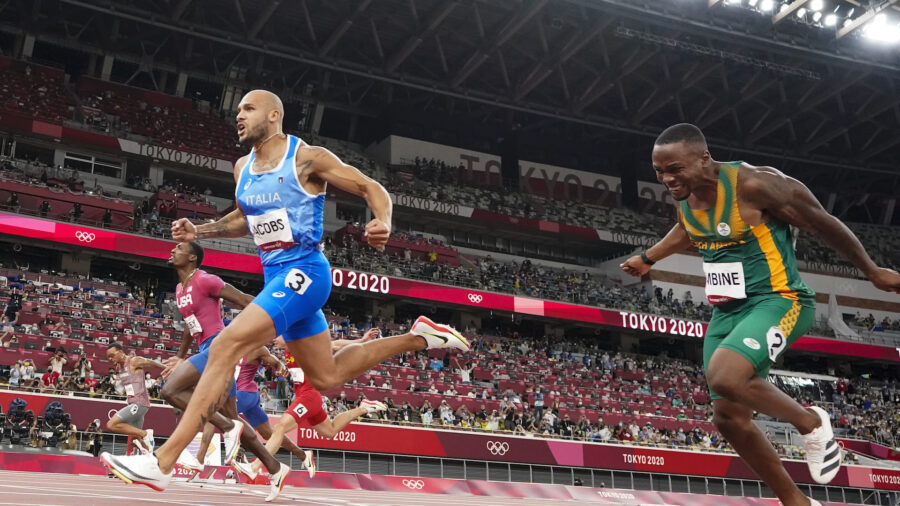 Texas-Born Italian Sprints From Unknown to Bolt's Successor