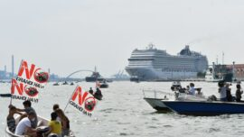 Venice Bans Cruise Ships From Historic Canal