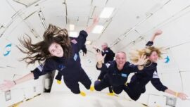 'Zero Gravity Experience' Offers Customers Weightlessness