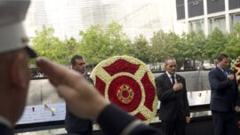 9/11 First Responders and Victims' Families Recall the Tragedy 20 Years Later During Wreath Laying Ceremony