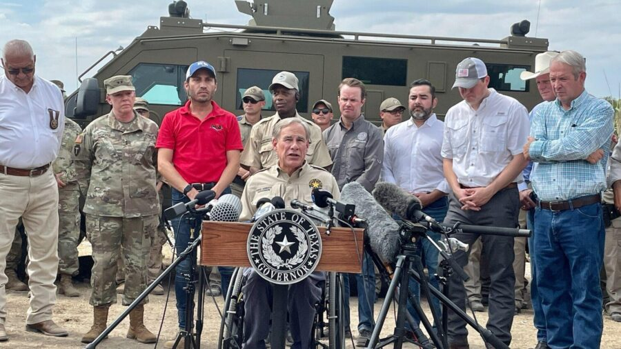 Texas Governor Vows to Hire Any Border Patrol Agent Fired by Biden Administration