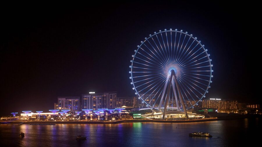 Ain Dubai: How the World's Largest Observation Wheel Was Built