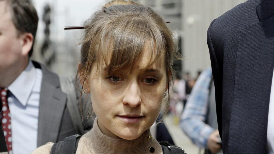 TV Actress Allison Mack Enters Prison in NXIVM Sex Slave Case