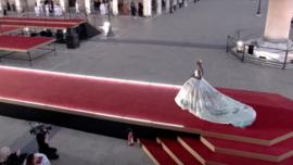 Dolce & Gabbana Showcases Couture in Venice