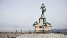 Piazzale Michelangelo Undergoes Restoration