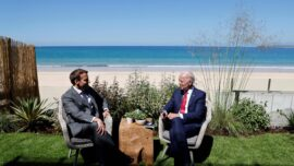 Biden and Macron Look to Mend Relationship