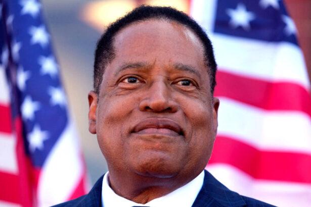 Republican gubernatorial candidate Larry Elder
