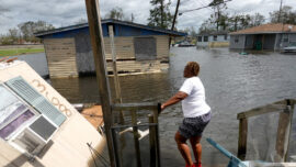 Hurricane Aftermath in LaPlace, Louisiana