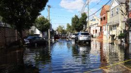 Hoboken, Across From NYC, Still Flooded From Ida