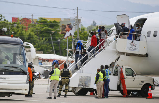 Haitians who were deported