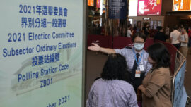 New Hong Kong Electors Chosen, With Only One Opposition Member