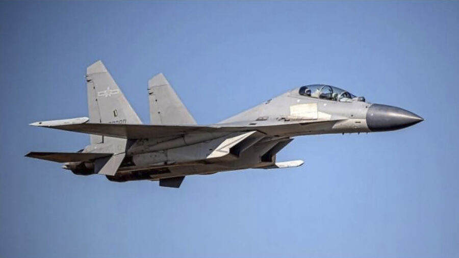 24 Chinese Fighter Jets Enter Taiwan's Air Defense Identification Zone in One Day