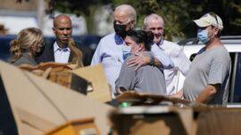 Biden Visits New York, New Jersey to Survey Ida Damage