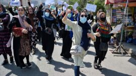 Taliban Uses Gunfire to Disperse Protest, Detains Journalists