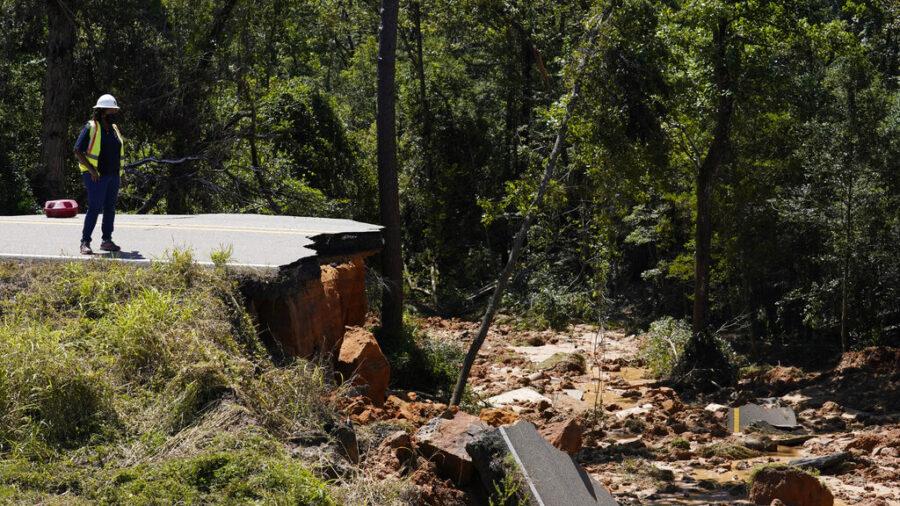 Crash Victim Recalls Terror After Mississippi Road Collapse