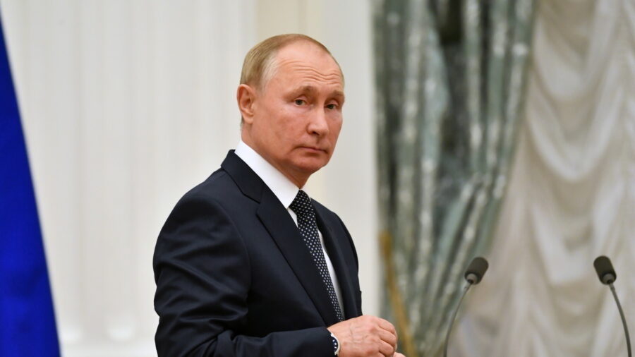 Russia's Putin to Self-Isolate After COVID-19 Detected in Entourage