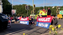 Environmental Activists Block London Freeway For Third Time in a Week