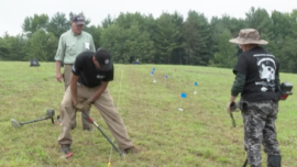 Veterans Benefit from Archaeological Dig