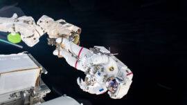 Astronauts Complete NASA Spacewalk to Prepare for International Space Station Power Boost