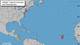 Tropical Storm Larry Expected to Strengthen Into Hurricane Soon: NHC