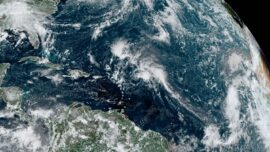 Tropical Storms Peter and Rose Form Over Atlantic Ocean
