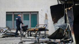 Blaze at COVID-19 Field Hospital Kills 14: North Macedonia