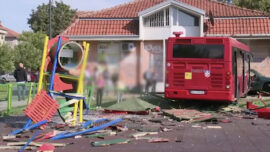 Bus Swerves Into Children's Playground in Belgrade, Injuring Several